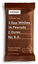 RXBAR Whole Food Protein Bar, Peanut Butter Chocolate, 1.83oz - $5.39