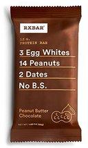 RXBAR Whole Food Protein Bar, Peanut Butter Chocolate, 1.83oz - $5.39