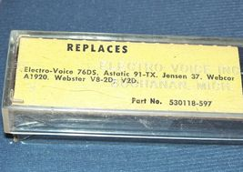 Electro-Voice EV 76D for Astatic 91TX CARTRIDGE NEEDLE STYLUS Fits 942-DS13 image 3