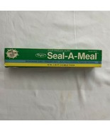 Vintage Dazey Seal A Meal Bags Boilable Cooking Pouches 10x20 6010 Open - $13.29