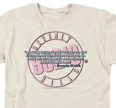 Beverly Hills 90210 Brenda Walsh Dylan McKay Teen Retro 80's 90's T-shirt CBS156 image 3