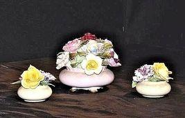 Royal Adderley Floral Boutique (England) AA18 - 1068 3 Piece Vintage image 3