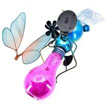 Regal Art & Gift Metal & Glass Butterfly Hanging Solar Light Garden Decor image 7