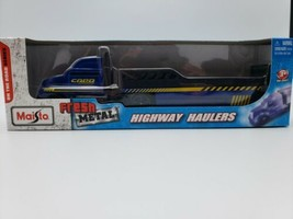 New- Maisto Fresh Metal Highway Haulers On The Road Series Car Transporter - $14.84