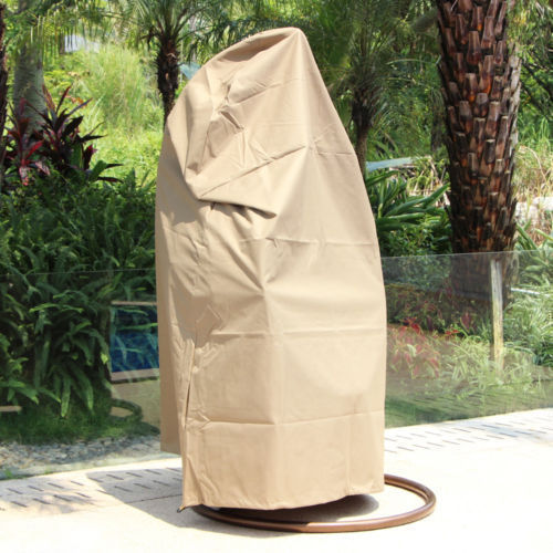Outdoor UV Rain Cover 4 Wicker Swing Chair Wateroof Hanging Hammock Chair Cover