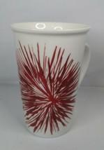 Starbucks 2014 Holiday Red Starburst Fireworks 12 oz Coffee Mug Tea Cup  - $10.99