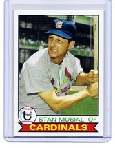 STAN MUSIAL - ST LOUIS CARDINALS - 2016 TOPPS HERITAGE BASEBALL CARD  #141 - $1.95