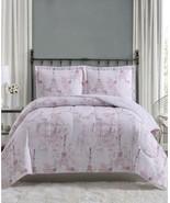 $80.00 Pem America Paris 3-Pc. Full/Queen Comforter Mini Set, Blush - $31.68