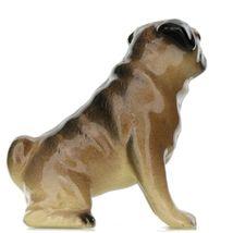 Hagen Renaker Dog Pug Mama Tan Ceramic Figurine image 7