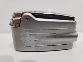 Vintage Working Ronson Premiere Adonis Silver Tone Varaflame  LIGHTER - $33.66