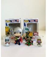 Funko Marvel Set, Groot, Thor, Infinity Gauntlet Shirt XXL & 2 Toothpick... - $34.64