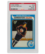 Wayne Gretzky 1979 Topps #18 Edmonton Oilers Hockey Card PSA 786 NM-MT 8... - $9,899.99