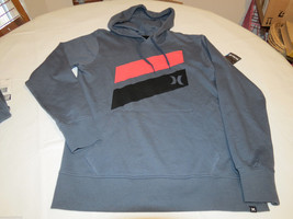 Hurley hoodie hoody shirt long sleeve Men's S small MFT0004010 Icon Spla... - $28.86