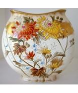 Antique Royal Bonn Vase Chrysanthemum Aesthetic Mehlem - $375.00