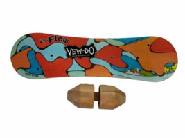 VEW-DO The Flow Balance Board Balance Training Trainer Made in the USA Roller image 1