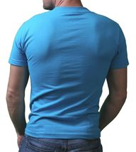 IM KING Mens Caribbean Blue Beastin Monster Beast Graphic T-Shirt USA Made NWT image 3