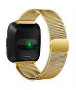 Replacement Strap Band Milanese Loops For Fitbit Versa Stainless Steel B... - $19.78+