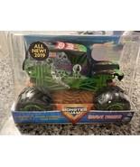 Monster Jam Grave Digger Monster Truck 1:24 Scale Die-Cast Authentic Det... - $19.70