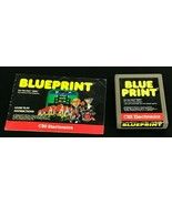 Atari 2600 Game Cartridge Blueprint With Original Instructions Tested V... - $9.29