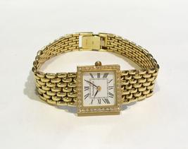 Tiffany & Co. 14k Yellow Gold & Diamond Square  Watch  - $2,500.00