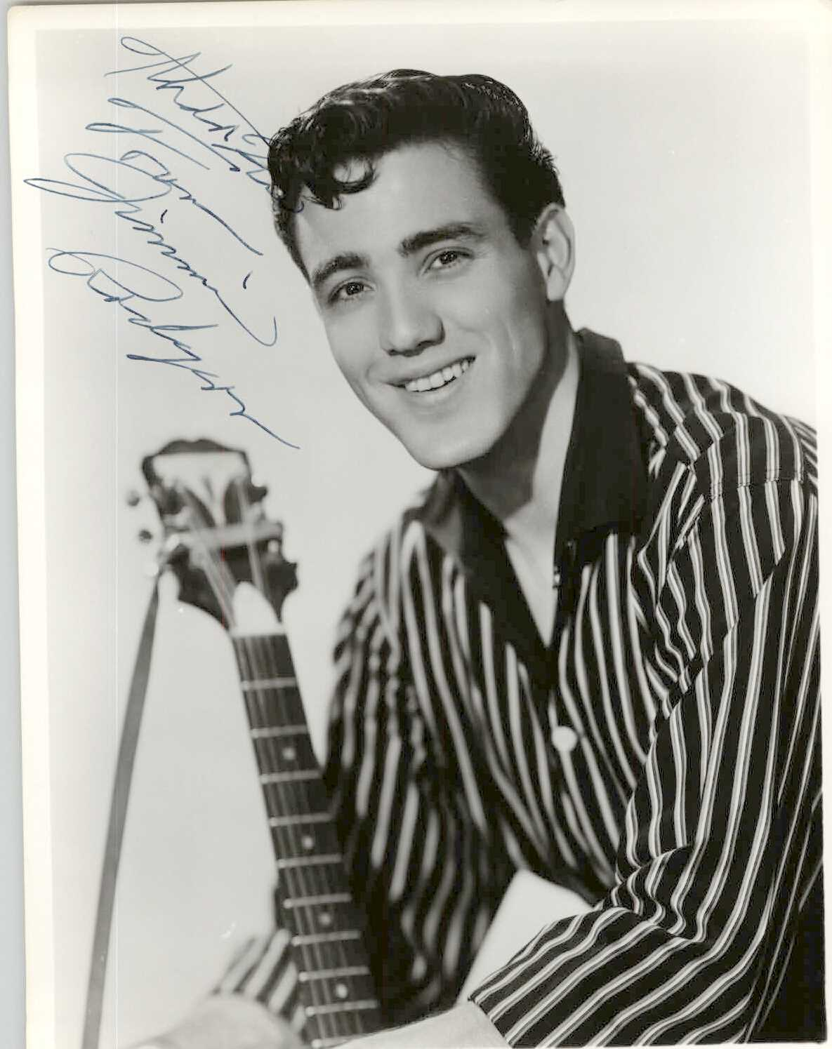 Primary image for Jimmie Rodgers Signed Autographed Vintage Glossy 8x10 Photo