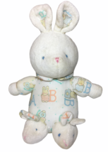 Carters Baby Plush Rattle Bunny Rabbit ABC Pajamas Slippers Pink Blue Do... - $37.05