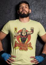 Wonder Man t shirt marvel comics retro vintage silver age yellow graphic tee image 3