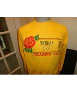 Vtg 1989 Rose Bowl Champions Michigan Wolverines 50-50 NCAA Sweatshirt F... - $43.07