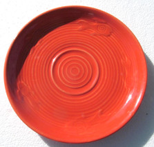 Fiesta Mango Red Orange Color Saucer by Homer Laughlin- Lead Free - $12.99
