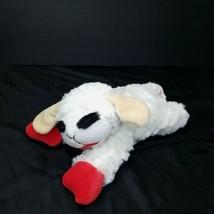 Multipet Lamb Chop Dog Toy Sheep Plush Squeak Dogs & Puppies Stuffed Animal - $12.86