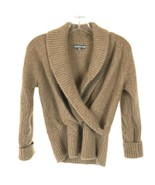 Womens Size Medium Anne Klein 100% Pure Cashmere Wrap Sweater Top - $39.19