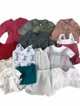 "Handmade 18"" Doll Shirts Top Lot Of 15 Fits American Girl - $41.90"