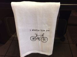 The Best Message Kitchen Gift Towel  Made in USA by Hand image 14
