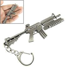Keychain Weapon Gun Pendant Metal Keyring - $5.99+