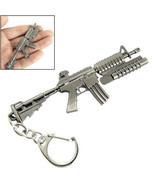 Keychain Weapon Gun Pendant Metal Keyring - $5.99