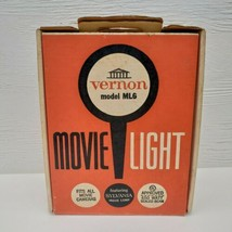 Vernon Movie Light ML6 Vintage Sylvania Lamp 650 Watt Original Box - $19.99