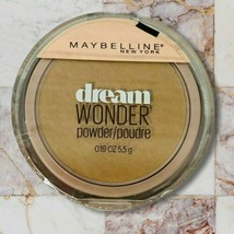 Maybelline New York Dream Wonder Powder #90 Caramel Face Powder Sealed .19 oz - $9.12