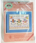 Vintage Dimensions rocking horse birth record crossstitch 1987 - $14.85
