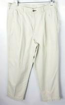 Tommy Hilfiger Chino Pants 34x28 Cream Beige - $29.69