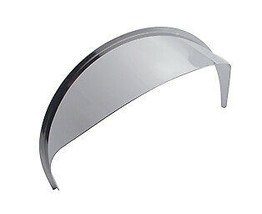 United Pacific 10468 7-in & 5-3/4-in Stainless Steel Round Headlight Visor - $11.09