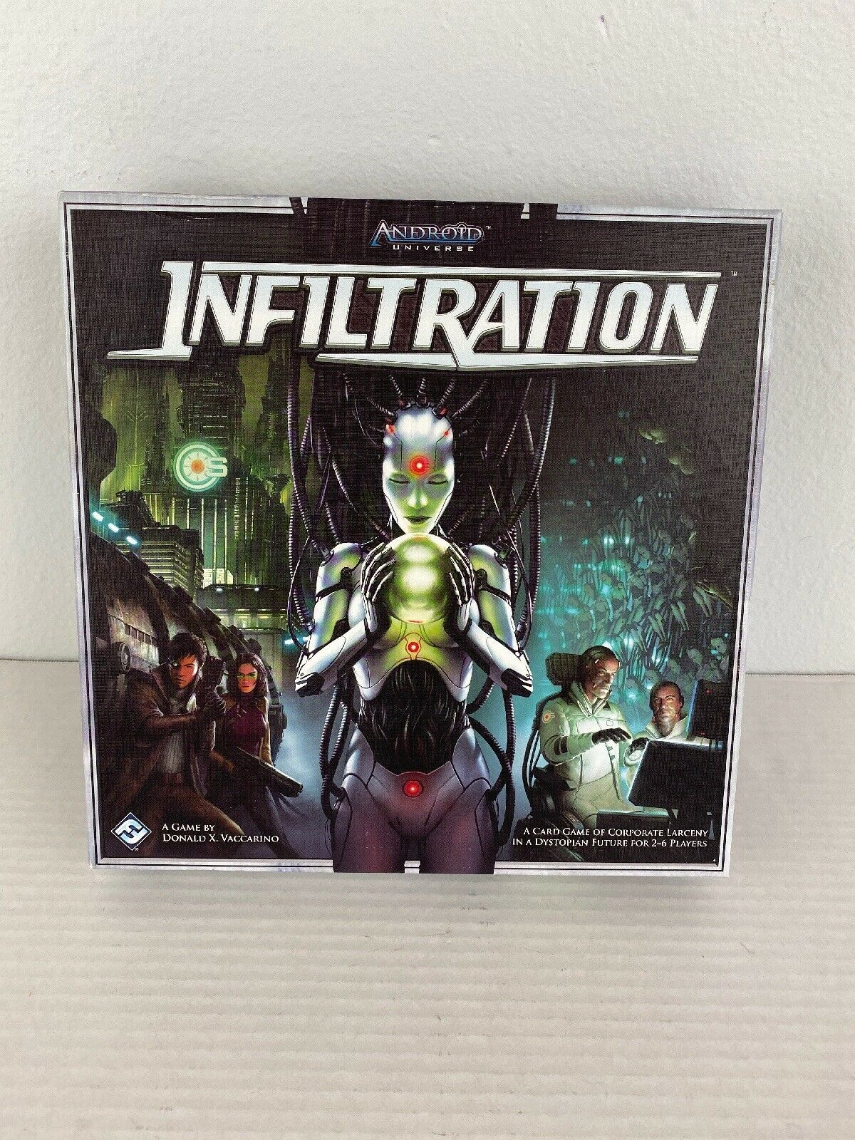 Primary image for Infiltration Board Game Android Universe Fantasy Flight Vaccarino 2-6 Complete