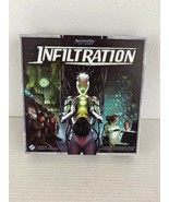 Infiltration Board Game Android Universe Fantasy Flight Vaccarino 2-6 Co... - $39.59