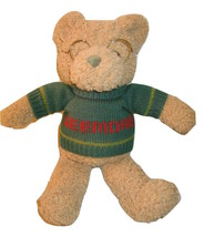 "GUND 13"" Plush SEEMORE Bear Sweater Wire Framed Glasses Stuffed Animal T... - $7.42"