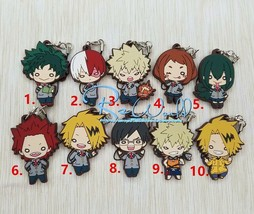 My Hero Academia Boku no Hero Akademia Rubber Strap Charm Keychain Bakugou Gift - $3.62+