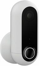 Security Surveillance Camera HD Wireless Weatherproof Audio Alert/Siren White - $235.36 CAD