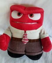 "Disney Inside Out Anger Plush 10"" Talking Animated Disney Store - $6.29"