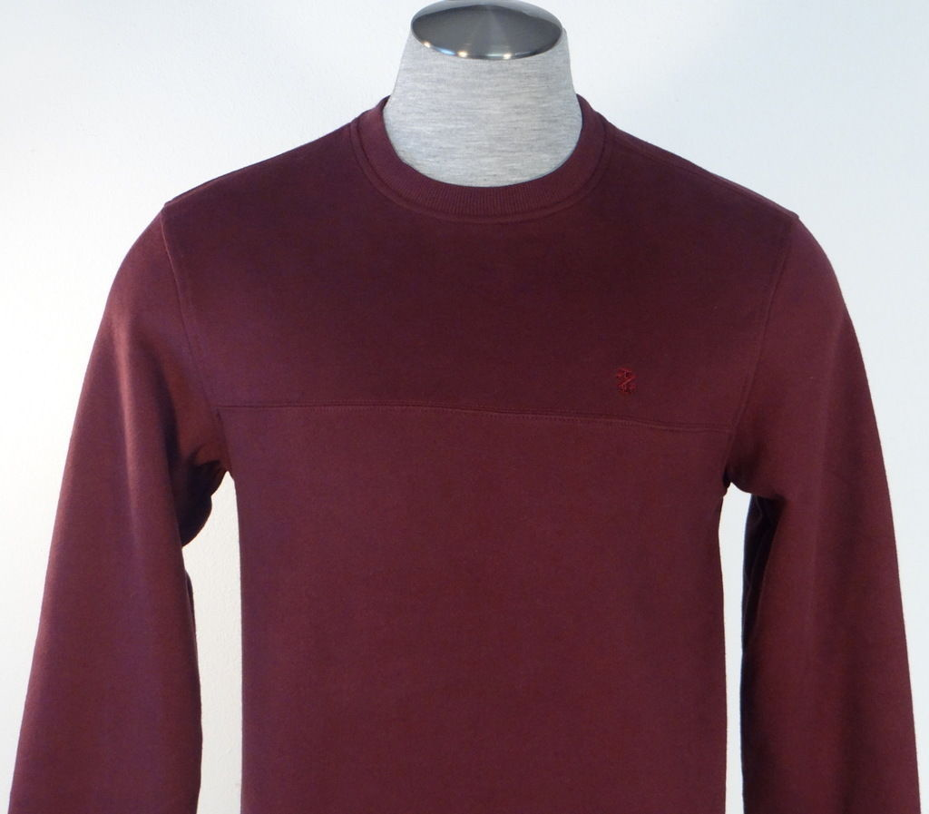 NWT Izod 3XL  Pull Over Fleece Lined Sweatshirt Gray//Blue  $60.msrp