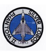 USAF 2th Fighter Squadron Silver Lobos Phantom II F-4 Patch Sticker NEW!!! - $9.89