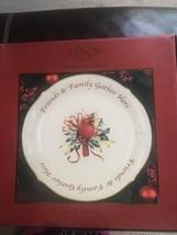 """Lenox Winter Greetings Xmas Dessert Platter 12"""" Cardinal - $24.75"""