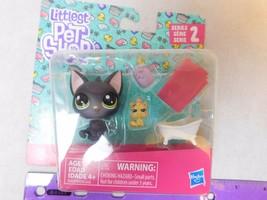 Littlest Pet Shop Series 2 #74 Jade Catkin Cat #75 Kittylina Scrapper Ki... - $7.00